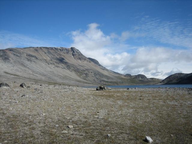 landskapet sør for Taseq