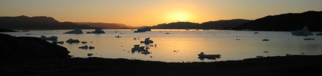 Narsaq Bay  -  kveldsstemning