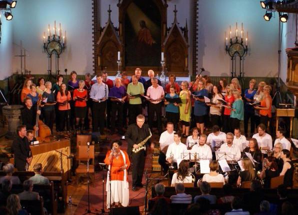 Vissjass, konsert i Vår Frelsers Kirke - Sildajazz 2012: Back to New Orleans