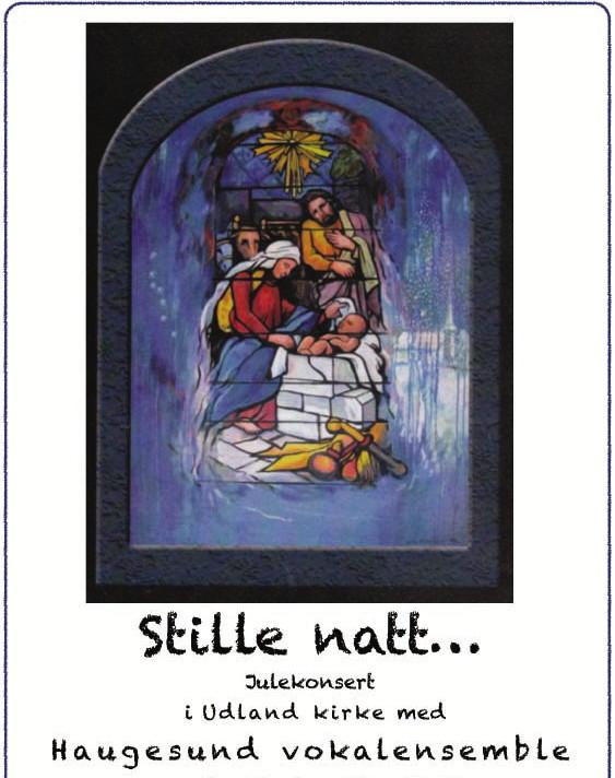 Konsert i Udland kirke, 17.12.13.